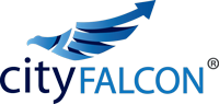 application design studio work CityFalcon, app2world