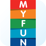 application design studio work MyFun, app2world